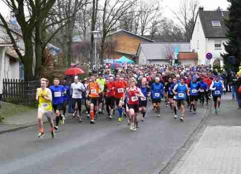 Bad Salzuflen Marathon Start